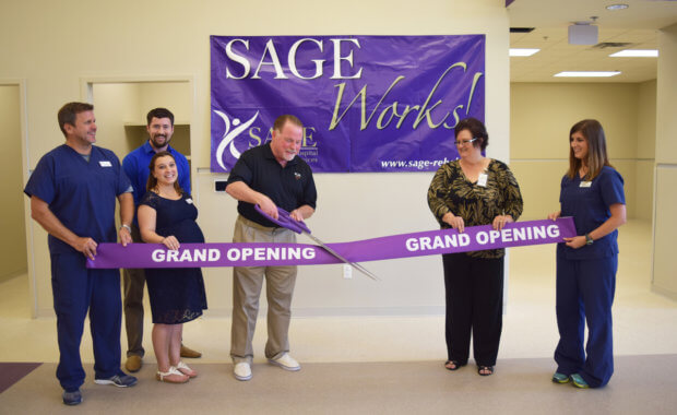 SAGE Outpatient Services Hosts Ribbon Cutting, Groundbreaking July 27